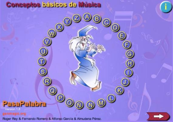 Distintivo de Pasapalabra. juego